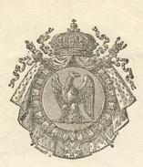 Héraldique Colmar 1815 Loi Sur L'exportation Du Grain,farine Et Légumes - Documentos Históricos