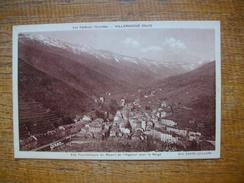 Valleraugue , Vue Panoramique Du Massif De L'aigoual Sous La Neige - Valleraugue