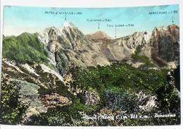 MASSA CARRARA - Fivizzano - Vinca - Panorama - Pizzo D' Uccello Pisanino Foce Giovo Garnerone - Alpi Apuane - 1964 - Massa
