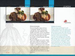 Portugal , 2005 , Gastronomy , EUROPA , Açores , Azores , Bloc , ** - Europa-CEPT