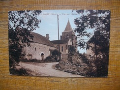 Saizy , Vue Sur L'église - France