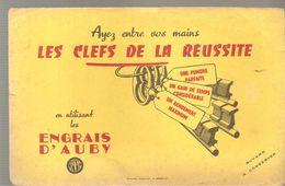 Buvard Les Engrais D'Auby Les Clefs De La Réussite - Agriculture