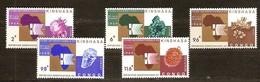Congo Democratique 1969 OCBn° 684-688 *** MNH Cote 6,00 Euro - République Démocratique Du Congo (1964-71)