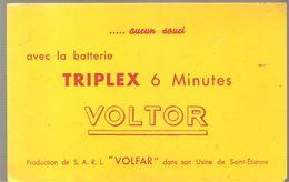Buvard VOLTOR Avec La Batterie TRIPLEX 6 Minutes VOLTOR Aucun Souci - Automotive