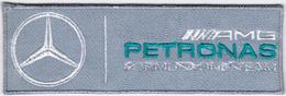 F1 Mercedes AMG Petronas GREY Formula 1 Team Auto Car Automobile Racing Patch - Patches