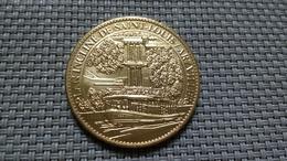 Médaille Touristique Métal Doré - Plan Incliné Saint-Louis Artzviller 2012 TRESORS DE FRANCE ARTHUS BERTRAND 3.2cm - 15g - Turísticos