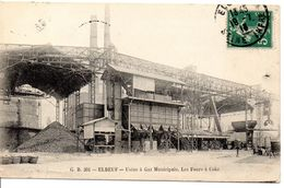 76 - ELBEUF - Usine à Gaz Municipale, Les Fours à Coke - Elbeuf