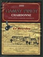 Rare // Etiquette // Gamay Pinot 1999,Michel Neyroud, Chardonne, Vaud,Suisse - Etiquettes