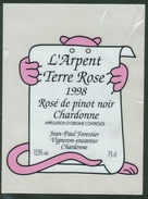 Rare // Etiquette // Rosé De Pinot Noir 1998. Jean-Paul Forestier Chardonne, Vaud, Suisse - Etiquettes