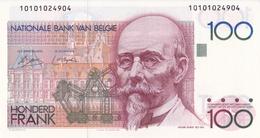"""BELGIQUE - 68a -PREMIER  BILLET De 100 FRANCS  """"TYPE BEYAERT """" -signatures Au Recto Uniquement !! FDC - [ 2] 1831-... : Belgian Kingdom"""