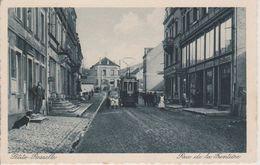 57 - PETITE ROSSELLE - RUE DE LA FRONTIERE - TRAMWAY - France