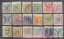 Estampillas De Dinamarca -  Stamps Of Danmark - Lotes & Colecciones