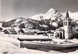73 - CREST VOLAND : Le Village Et Le Mont Charvin - CPSM Dentelée Noir Et Blanc Grand Format - Savoie - Andere Gemeenten