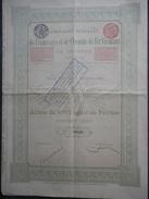 TRAMWAYS Et Chemins De Fer VICINAUX En ESPAGNE SPAIN  Bruxelles 1906 - Chemin De Fer & Tramway