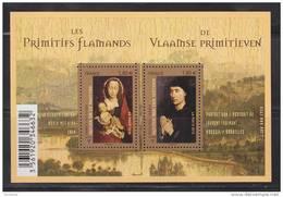 = Les Primitifs Flamants La Vierge à L'Enfant Et Portrait De Laurent Froimont 2 Timbres à 1.80€ N°F4525 (4525 4526) Neuf - Nuevos