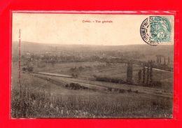 54-CPA CREVIC - VUE GENERALE - (N°1265) - Autres Communes
