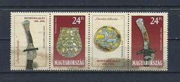 Archeologie - Hongarije 1996 YT 3533/34 + Blok MNH - Archaeology