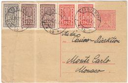 AUSTRIA - ÖSTERREICH - AUTRICHE - 1923 - 200 + 100 + 2 X 120 + 2 X 180 - Carte Postale - Postal Card - Intero Postale - - Interi Postali
