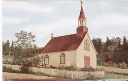 Canada Quebec Tadoussac Old Indian Church