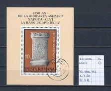 Archeologie - Roemenië 1974 YT Blok 112 Gest./obl./used - Archaeology