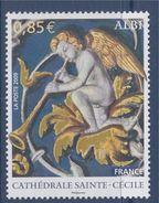 = Cathédrale Sainte Cécile D'Albi N°4336 Neuf Gommé Ange Avec Trompette, Détail Peinture De La Voûte - France