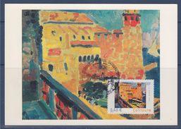 Le Chemin Du Fauvisme, 22 Juin 2002, Premier Jour, 66 Collioure, Phare, Port, Bateaux N°3497 - 2000-09