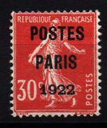 FRANCE - Préo YT N° 32 Signé Brun - Neuf * - MH - Cote: 750,00 € - 1893-1947