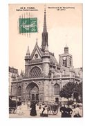 75 Paris X Eglise Saint Laurent Boulevard De Strasbourg Cpa Animée - Distretto: 10