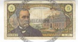/! 1583 - France : 1 Billet De 5 Francs Pasteur (01/09/66) - 1962-1997 ''Francs''