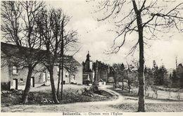 Baillonville - Chemin Vers L'église - Edit. M. Renson, Négociant - Somme-Leuze