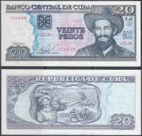 2014-BK-40 CUBA 20$ 2013 CAMILO CIENFUEGOS REEMPLAZO UNC CZ REPLACEMENT. - Cuba