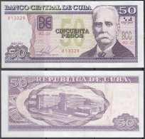 2015-BK-40 CUBA 50$ 2015 CALIXTO GARCIA REEMPLAZO UNC BZ REPLACEMENT. - Cuba