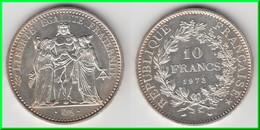 QUALITE **** 10 FRANCS 1972 HERCULE - ARGENT **** EN ACHAT IMMEDIAT - K. 10 Francs