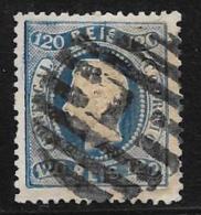 Portugal, Scott # 32 Used King Luiz, 1867, Short Perfs - 1862-1884 : D.Luiz I