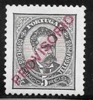 Portugal, Scott # 81 Mint Hinged King Luiz, Overprinted Provisorio, 1892 - 1892-1898 : D.Carlos I
