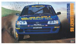 Subaru Legacy RS 1993 New Zealand Rally Winner ( Hasegawa ) 1/24 - Cars