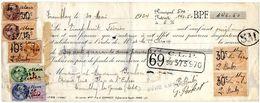 DOCUMENT COMMERCIAL MANDAT Tremblay *7 TIMBRES FISCAUX Année1924 256 - France