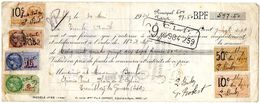DOCUMENT COMMERCIAL MANDAT Tremblay *7 TIMBRES FISCAUX Année1924 261 - France