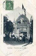 CAMBODGE(EXPOSITION AGRICOLE 1900) - Kambodscha