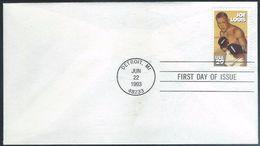 US  1993   29c   Boxer Joe Louis On  FDC - Premiers Jours (FDC)