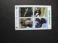 REPUBLIC OF DJUBALAND   MINT SHEET WWF  BIRDS EAGLES - W.W.F.