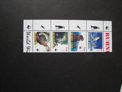 BUHNU POST  MINT SHEET WWF ANIMALS BIRDS - W.W.F.