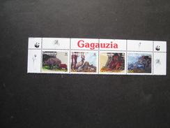 CAQAUZIA  MINT SHEET WWF ANIMALS - W.W.F.