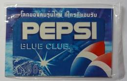 THAILAND - PEPSI - Blue Club - 50 Units - Mint Blister - Thaïlande