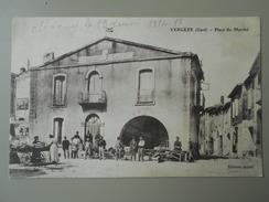 GARD VERGEZE PLACE DU MARCHE - Vergèze