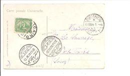 Ambulant T.P.O CAIRO-PORT SAID T95 & ISMAILIA-PORT TAUFIQ T93. Postcard (Belle) Fille Arabe - Egypt