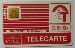 MONACO - 1st Issue - Impact - SO1 Chip - PYJAMA - 50 Units - Used - Monaco