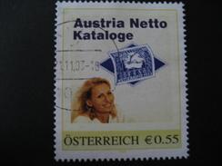 Pers. Marke 8001006 Gestempelt, Austria Netto Kataloge - Personalisierte Briefmarken