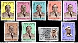 Congo 0445/53**  Kasavubu Surchargé  MNH - Neufs