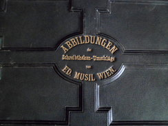 Abbildungen Der Shreibtheken-Umschläge Von Ed. MUSIL Wien (Kataloganzeige) 1876 - Austria